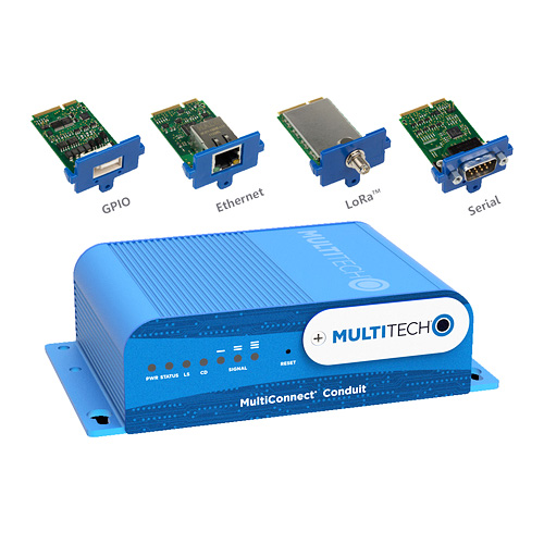MultiTech MultiConnect Conduit avec mCards