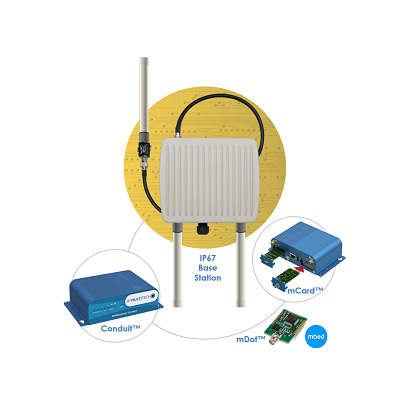 Station de base LoRa MultiTech avec MultiConnect Conduit
