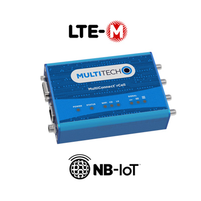 Routeur MultiTech MultiConnect rCell Serie 100 LTE Cat-M1/NB-IoT Image