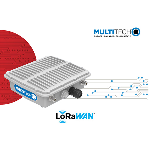 Passerelle LoRaWAN MultiConnect Conduit Station Base IP67